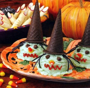 Bewitching Ice Cream Cones are easy to make and fun to eat.