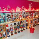 More than 500 nutcrackers on display. Many International versions.