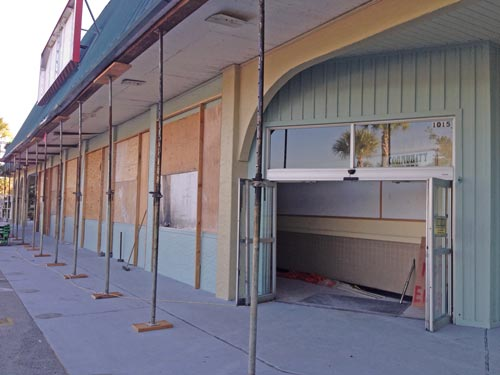 Palm Plaza renovation for new grocery store, Niceville FL