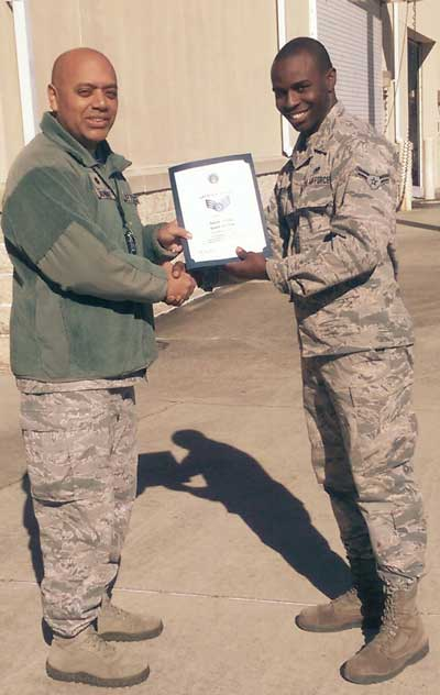 eglin air force base Arthur Weaver