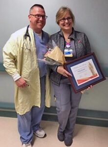 Dr. Richard Hughes and Sandie Brosnan. Niceville FL