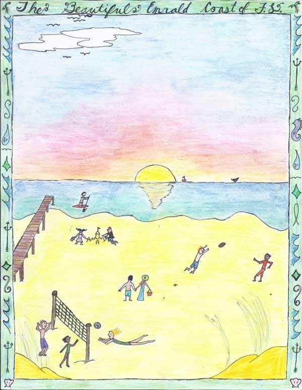 Okaloosa Arts Alliance poster 2016 middle school winner