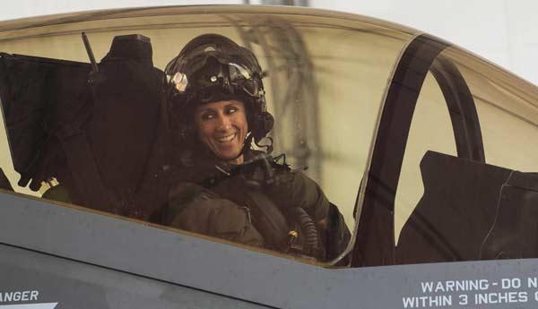 eglin afb Lt. Col. Christine Mau F-35 niceville