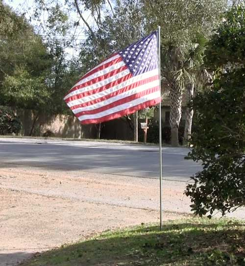 niceville kiwanis club flag program