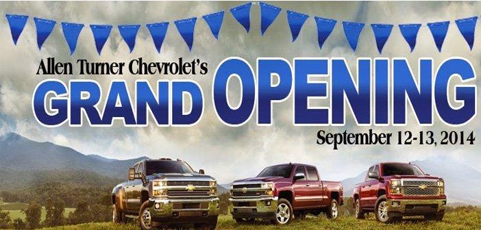 Allen Turner Chevrolet Grand Opening
