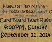 2014 Cardboard Boat Race at Bluewater Bay Marina