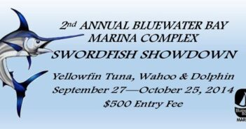 2014 Bluewater marina Swordfish Showdown