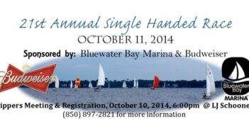 2014 single handed race Bluewater Bay