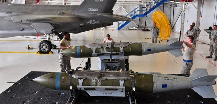 First F-35A operational weapons load crew qualified
