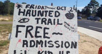 Halloween Haunted Trail, Niceville FL
