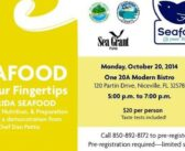 Learn to prepare Florida seafood in Niceville October 20