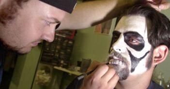 Halloween Vampire face makeup, Niceville FL