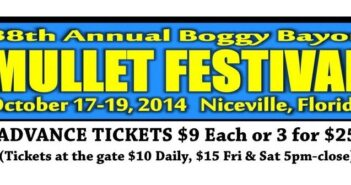 mullet festival tickets, mullet festival ticket locations, mullet festival 2014, niceville fl, niceville