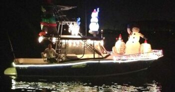 Bluewatr Bay Marina Complex Christmas Boat Parade, Niceville FL