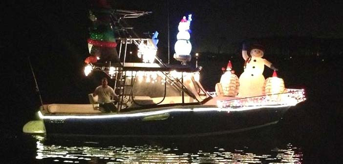 Bluewater Marina Complex 2014 Boat Parade and Decorating Contest
