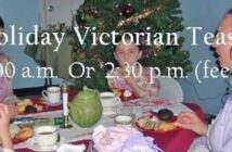 Holiday Victorian Tea, Valparaiso FL, Niceville FL
