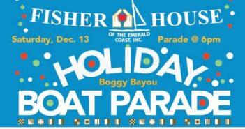 North Light Marina Fisher House Holiday Boat Parade 2014, Niceville FL
