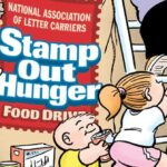 23rd annual Letter Carriers' Food Drive is this Saturday, May 9