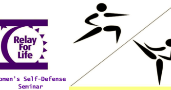 Women's Self-Defense Seminar, Relay for Life, Niceville FL