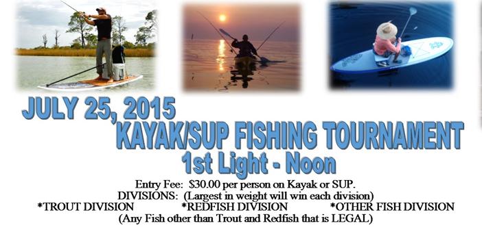 Bluewater Bay Marina Kayak & SUP Fishing Tournament