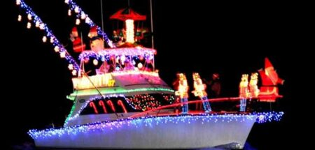 Christmas boat parade niceville boat