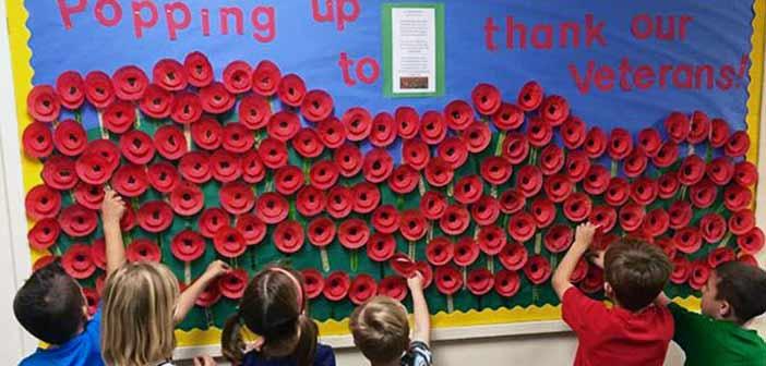 Edge Elementary Veterans Day