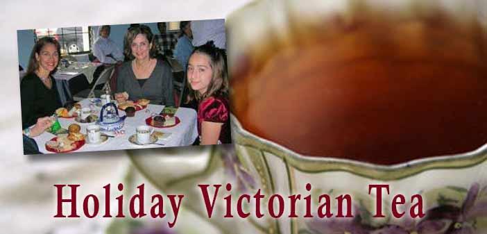 Holiday Victorian Tea Heritage Museum