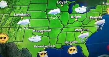 niceville Today Show weather map