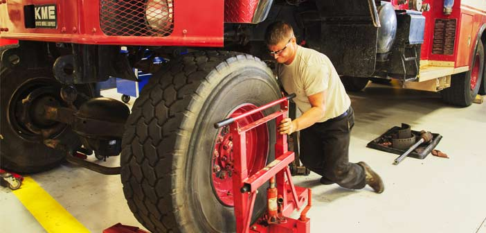 Eglin Air Force Base Fire truck