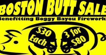 City of Niceville Boston Butt Sale 2016