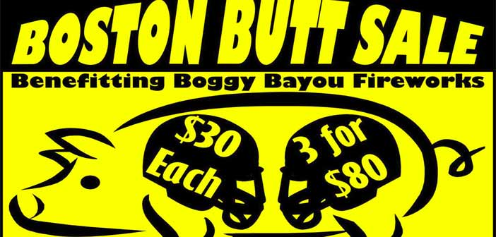 City of Niceville Boston Butt Sale 2016
