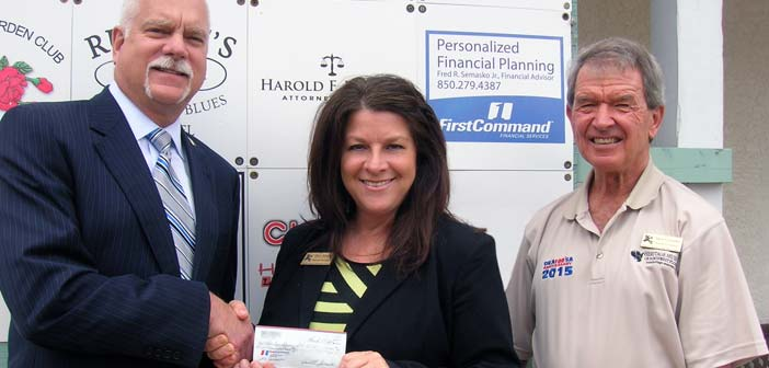 Keeping History Alive Rotary First Command Financial Services Donate To Museum Niceville Com