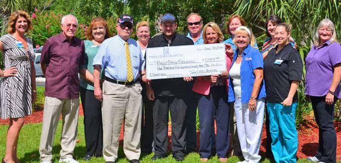 Twin Cities Hospital fireworks donation niceville
