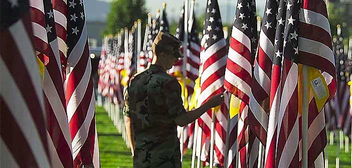 Field of Valor Flag display is Sept. 8-15 in Niceville