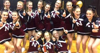 NHS cheerleaders Niceville Fla