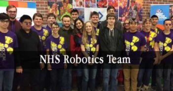 NHS Robotics Team hosts competition kickoff