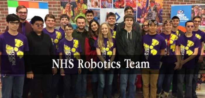 NHS robotics team niceville