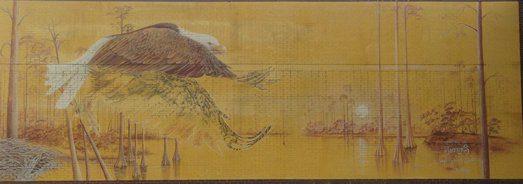Niceville High Eagle Mural old