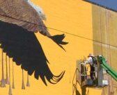 Niceville High Eagle Mural receives facelift [PHOTOS, VIDEO]