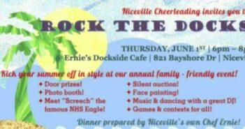 niceville cheer rock the docks