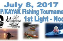 bluewater bay marina sup fishing tournament