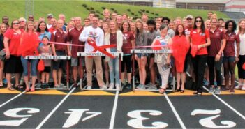 NHS Track Chamber Ribbon Cutting