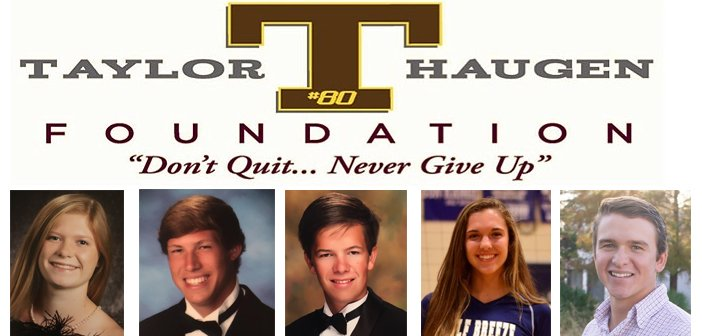 Taylor Haugen Foundation Scholarship