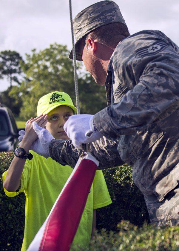 honor guard eglin elementary niceville