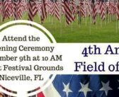 Field of Valor flag display in Niceville remembers Florida's fallen
