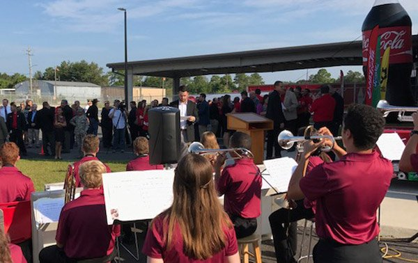 coca-cola bottling niceville high school band