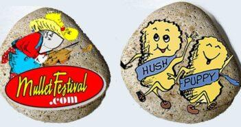niceville painted rocks mullet festival
