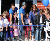 Plew Elementary celebrates opening of new secure entrance, front office