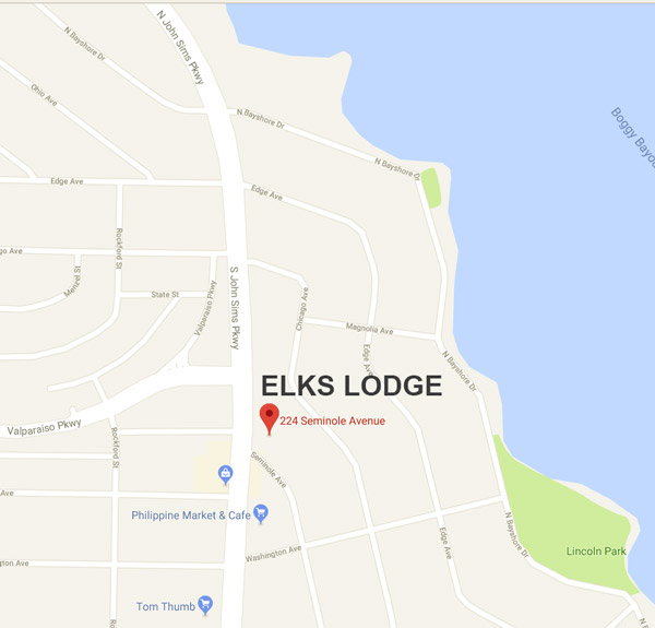 elks lodge valparaiso fl map