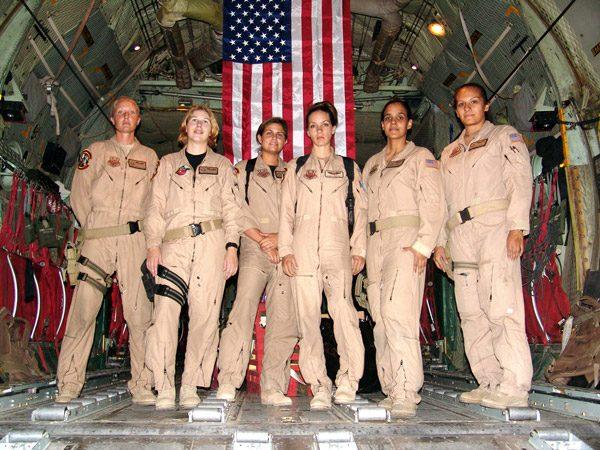 niceville eglin female combat crew